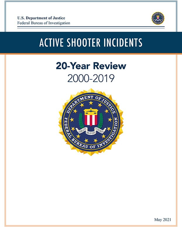 FBI Active Shooter 20 Year Review