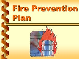 fire prevention plan image
